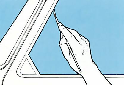 Finishing Tinting car windows