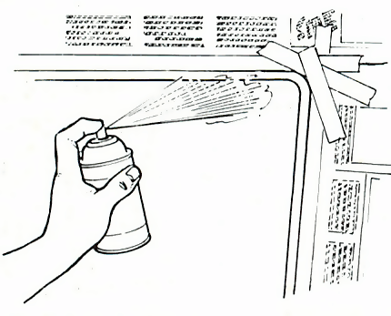 Spray-on tint
