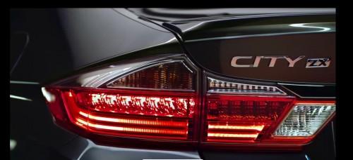 Honda City ZX rear
