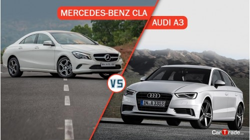 Mercedes CLA Vs Audi A3
