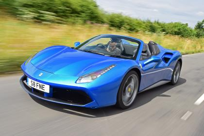 NEW FERRARI 488 SPIDER 2016