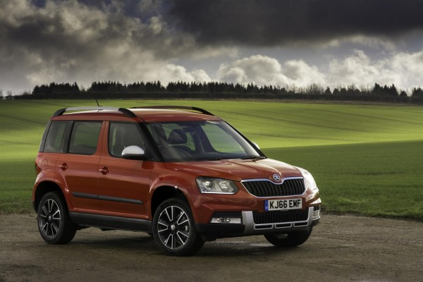 Skoda Yeti receives new variants in the UK