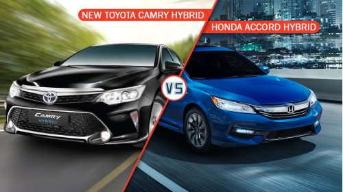 Toyota Camry Hybrid Vs Honda Accord Hybrid